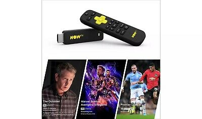 NOW TV Stick-Entertainment Sky Cinema & Sky Sports Day Pass BOXED NEW FREEPOST