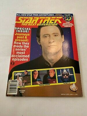1992 Star Trek Magazine The Next Generation June
