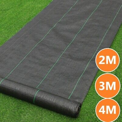 Extra Heavy Duty Weed Control Fabric Ground Membrane Cover Garden Mat Sheet UK