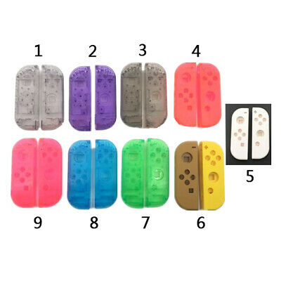 DIY Replacement Housing Shell Transparent Case for NS Switch Controller Joy-con
