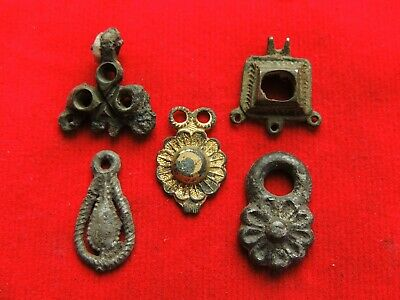Ancient Viking Earrings and Pendants
