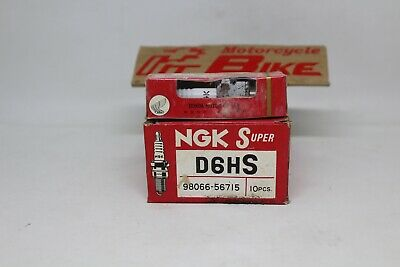 Spark Plugs Ngk Nos D6Hs For 10 Pcs