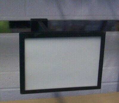 """Store Display Fixtures 3 DISPLAY RODS FOR RECTANGLE TUBING WITH SIGN HOLDERS 12"""""""