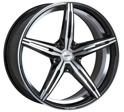 Oxigin Wheels 23 Diamond 8.5x19 ET43 5x114 SWFP for Kia Carens Cee d Niro Optima