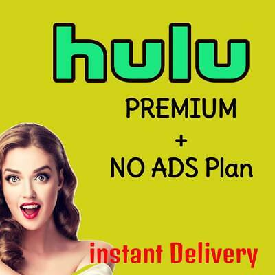 Premium Hulu Account With No Ads Plan+1 Year Replacement Warranty quck delivery