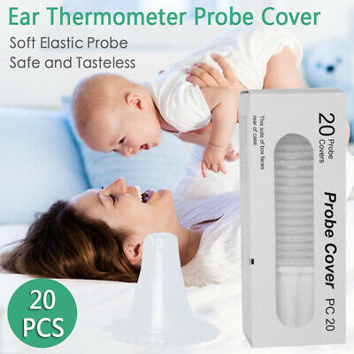 100x Braun Probe Covers Thermoscan Replacement Lens Ear Thermometer Filter Cap
