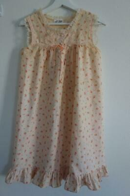 Vintage '60's Cotton Roses Liza-Gaye Aust Made Nightie S