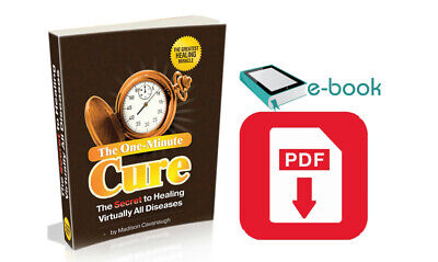 The One-Minute Cure :The Secret to Healing Virtually All Diseases 🔥{ ҽᗷOOK }🔥