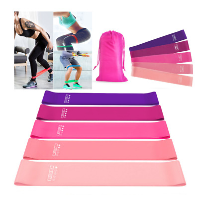 Resistance Bands Loops for Men Exercise Gym Fitness Yoga Glute Leg Band Exercise