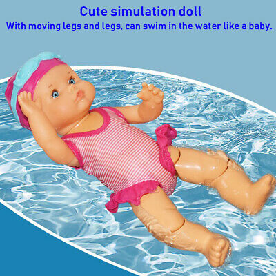Gifts Electric Swimming Doll Waterproof Kid Toy Birthday Gift Home Decor Toy