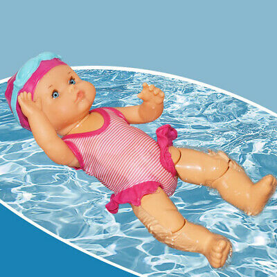 Gift Electric Swimming Doll Waterproof Kid Toy Birthday Gift Home Decor Toy