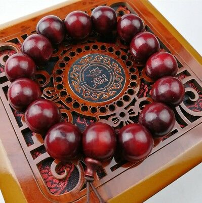Natural Chicken Woods Sandalwood Buddhist Prayer Beads Bracelets Necklace