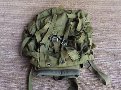 Vintage USMC Army Military Surplus ALICE Medium LC-1 Combat Rucksack Backpack GI