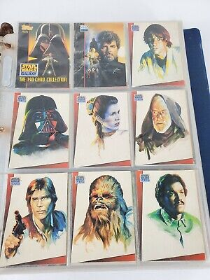 Complete Sets Star Wars Galaxy 1993 1994 Topps NM