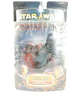 Darth Maul Action Figure - New - Star Wars Unleashed (2002)