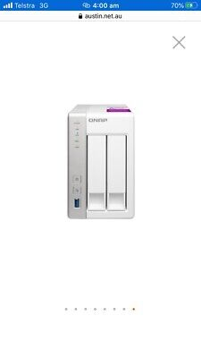 Qnap 251  with 8GB Ram in brand new condition