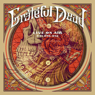Grateful Dead : Live On Air - Volume 1 CD Box Set 4 discs (2016) Amazing Value