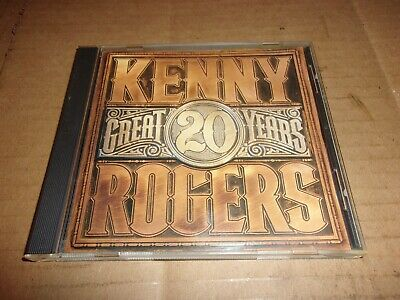 20 Great Years  by Kenny Rogers- (CD)