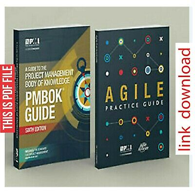 PMBOK 6 th Edition+Q&A+Formulae+Personalized++Agile Practice Guide etc,...