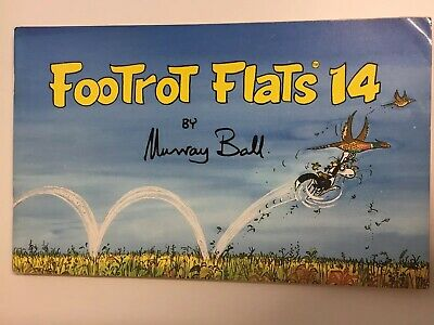 Footrot Flats # 14 by Murray Ball - PB 1989 -1st Ed NZ Series About a Farm Dog