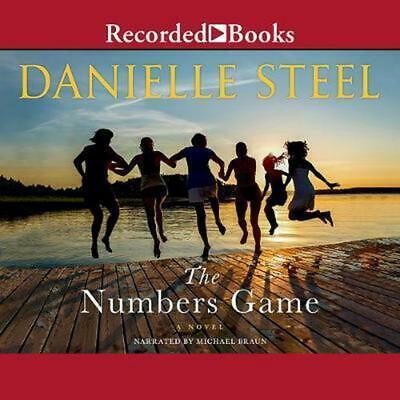 The Numbers Game by Danielle Steel (English) Compact Disc Book Free Shipping!