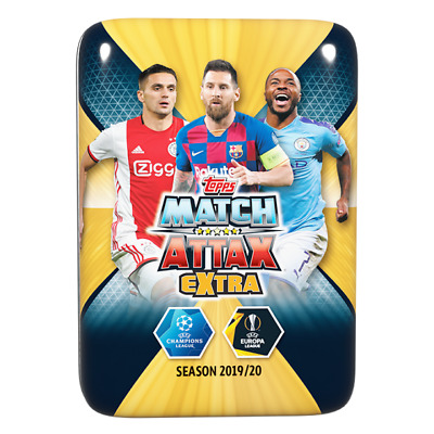 Match Attax Extra 19/20 - Empty Lionel Messi, Tadic & Sterling Mini Tin No Cards