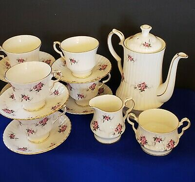 HAMMERSLEY PRINCESS HOUSE FINE BONE CHINA TEA SET,16 Pieces (FREE SHIPPING)