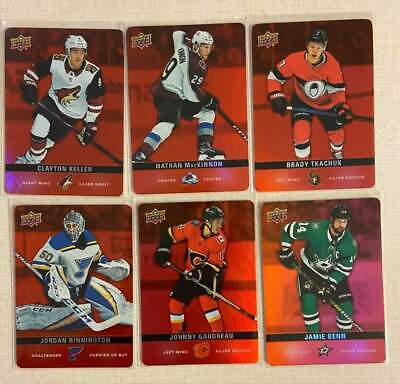 Tim Hortons hockey cards 19/20 RED DC- 30,12,6,5,4 and 1