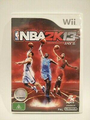 NBA 2K13 Wii Game Complete with Booklet VGC