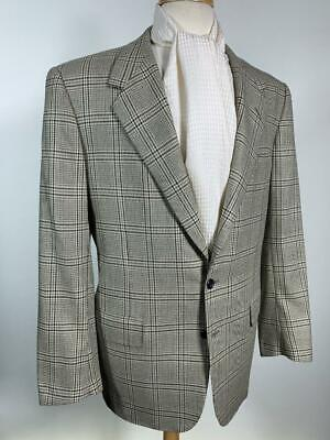 SUMMER WEIGHT OXXFORD LINEN SILK PLAID COAT 44 us 54 eu bergdorf goodman