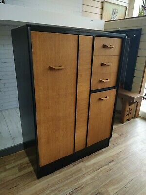 Vintage G Plan Brandon Gentleman Wardrobe Retro Tallboy Mid Century REFURBISHED
