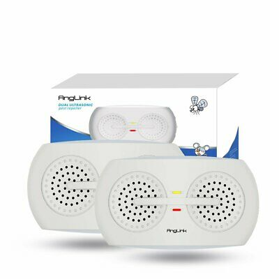 Anglink Ultrasonic Pest Repeller Indoor (2 Pack) NEW NIB $25