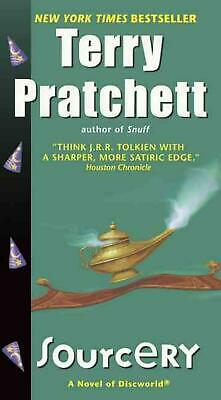 Sourcery by Terence David John Pratchett (English) Prebound Book Free Shipping!