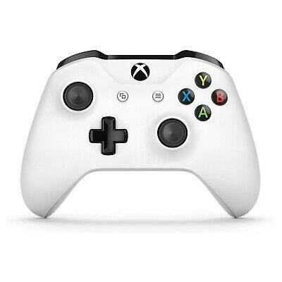 Microsoft TF5-00001 Xbox One Wireless Controller White Includes Batteries