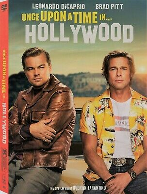 Once Upon a Time in Hollywood DVD - New and Unopened!