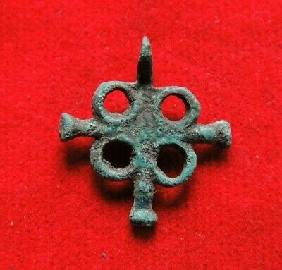 Ancient Bronze Viking Cross