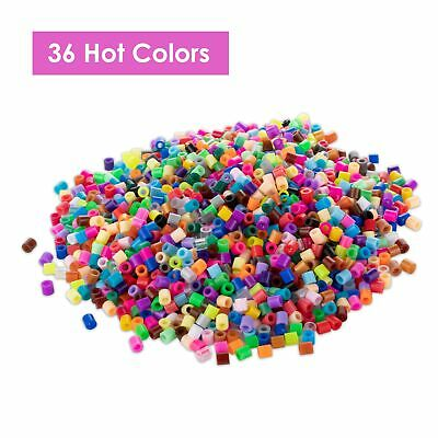 12000pcs 5mm Hama Beads 36 HOT Colors Mixed Packing KIDS DIY Fuse Beads