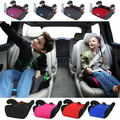Car Booster Seat Chair Cushion Pad Sturdy For Toddler Children Kids 3-12 Years