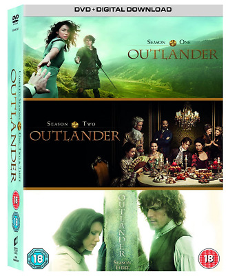 Outlander - Season 1-2-3, DVD BOX SET - *BRAND NEW SEALED* UK Seller (Z34