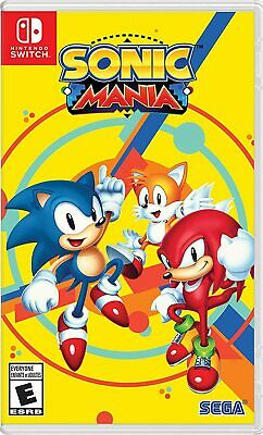Sonic Mania Nintendo Switch [Coop Mode, Online, Competion Mode, Classic Zones]