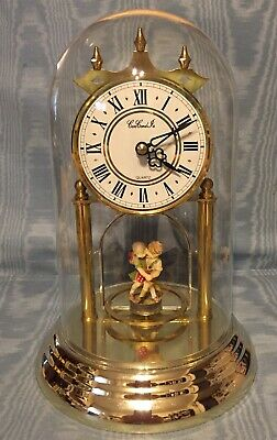 Vintage Rare  German Anniversary Clock  Boy/Girl Dancing        Germany