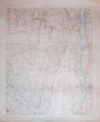 -Rare- 1948 -Coxsackie, NY- Vintage US Geological Survey Topographical Map