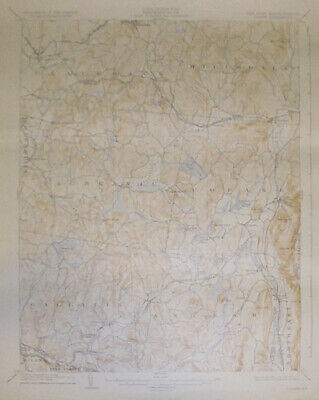 -Rare- 1927 -Copake, NY- Vintage US Geological Survey Topographical Map