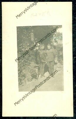 W.W.I. Soldiers (REAL PHOTO) (Military C)#63