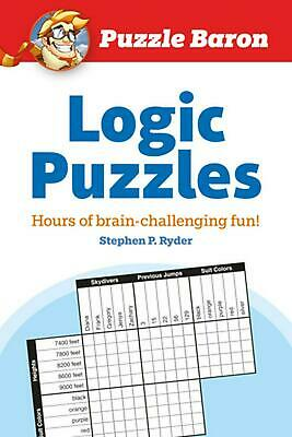 Puzzle Baron's Logic Puzzles by Stephen P. Ryder (English) Paperback Book Free S