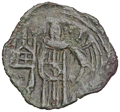 Andronicus II. 1282-1328 AD. AE Trachy. Thessalonica