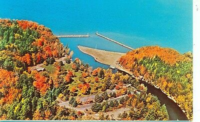 Black River Harbor Park, Michigan-Aerial View Of- (Mich-Bmisc)