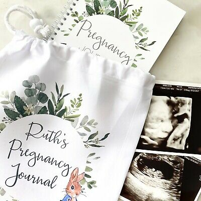 Pregnancy Journal, Pregnancy Planner, Pregnancy Diary, Peter Rabbit, Baby Book,
