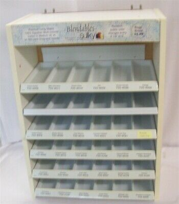 Store Fixture Supplies Counter Top/Pegboard Display Rack 36 Compartments