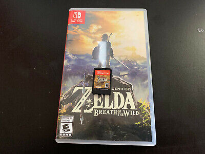 Legend of Zelda: Breath of the Wild (Nintendo Switch, 2017) Game and Case!